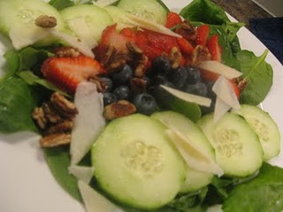 Red, White and Blue Salad