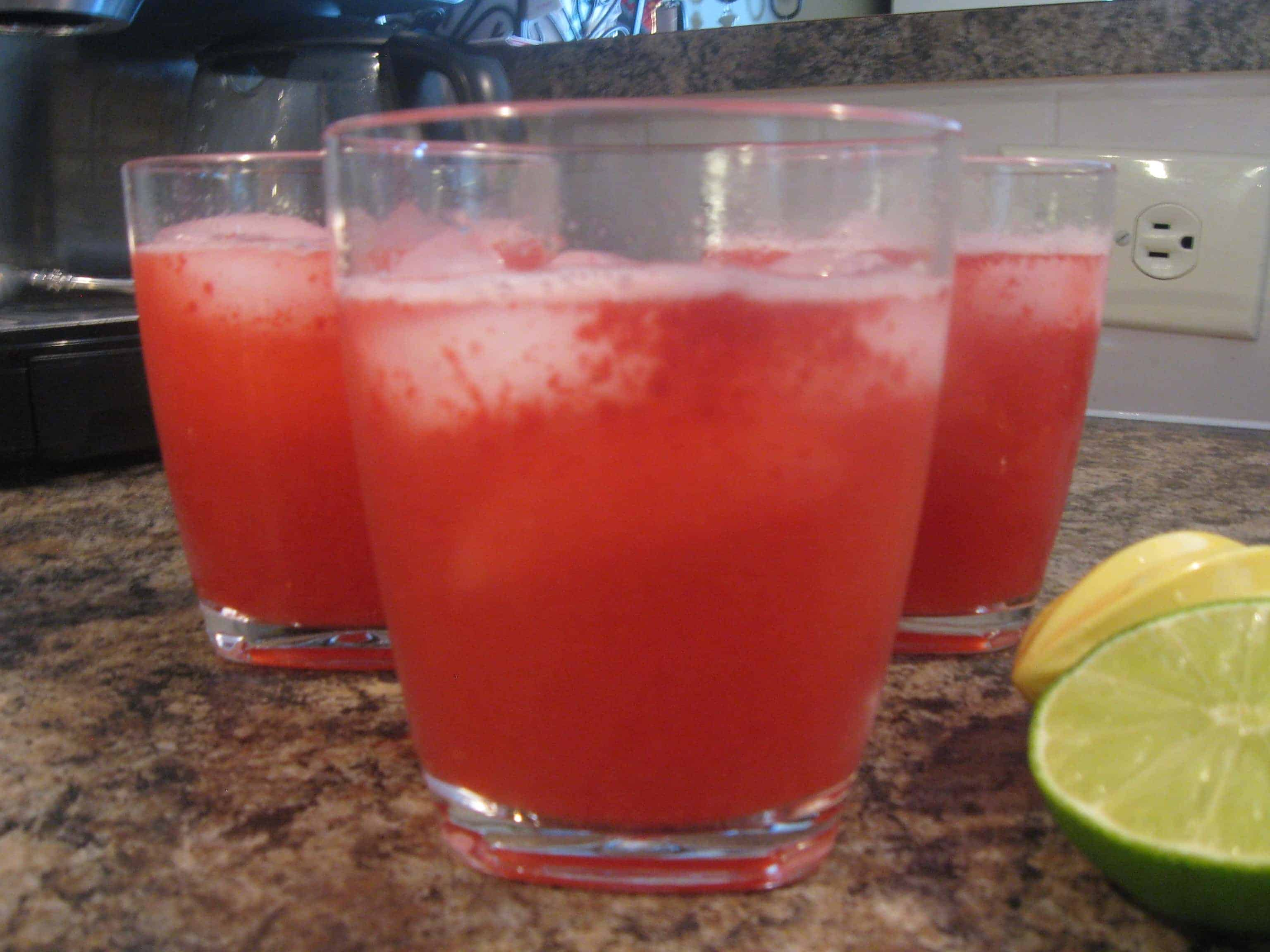 Raspberry Lemonade Fizzy