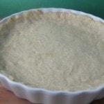 pie crust baked