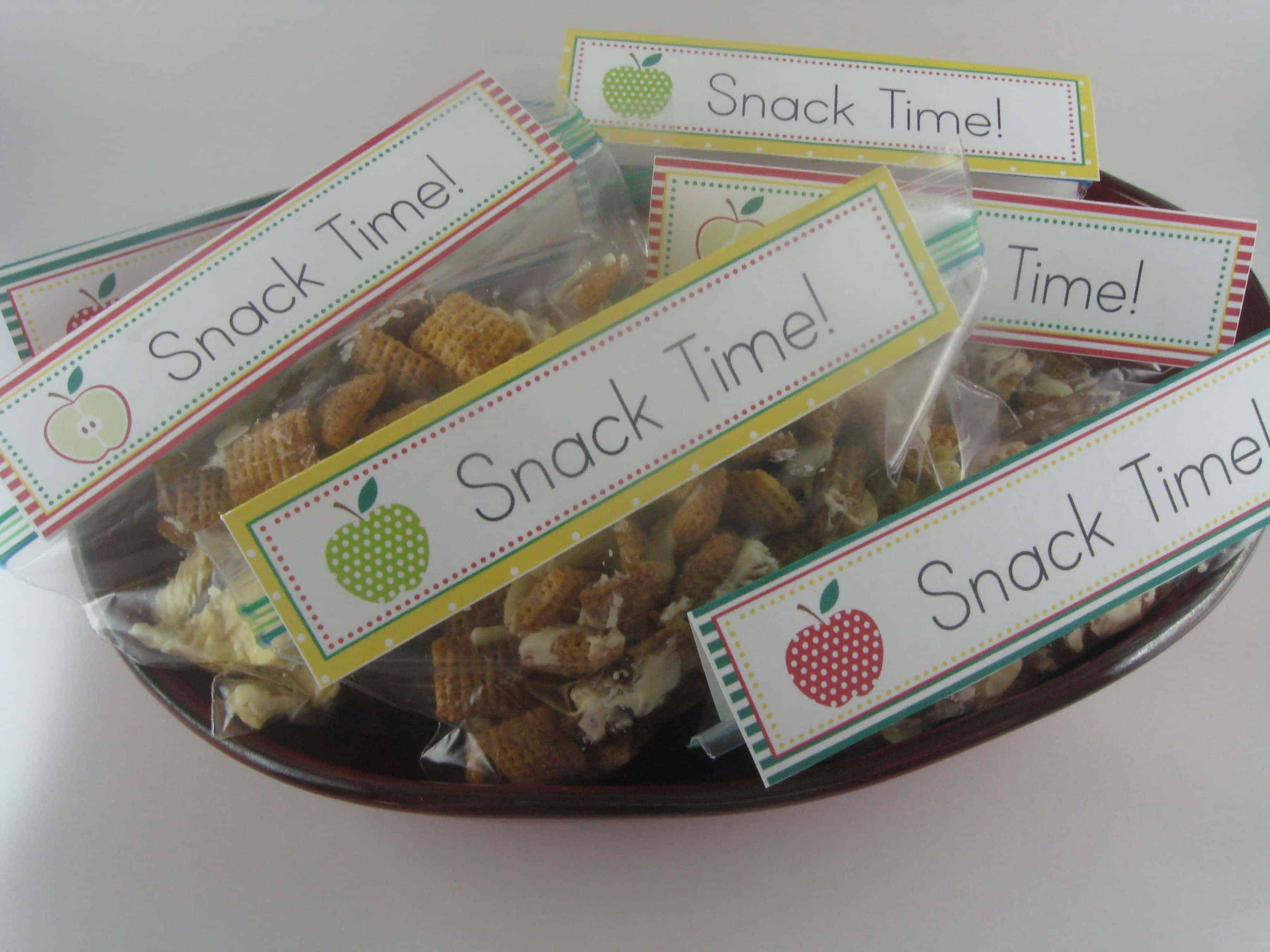Apple Pie Chex Mix - and Back to School
