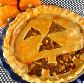 Jack O'Lantern Pie