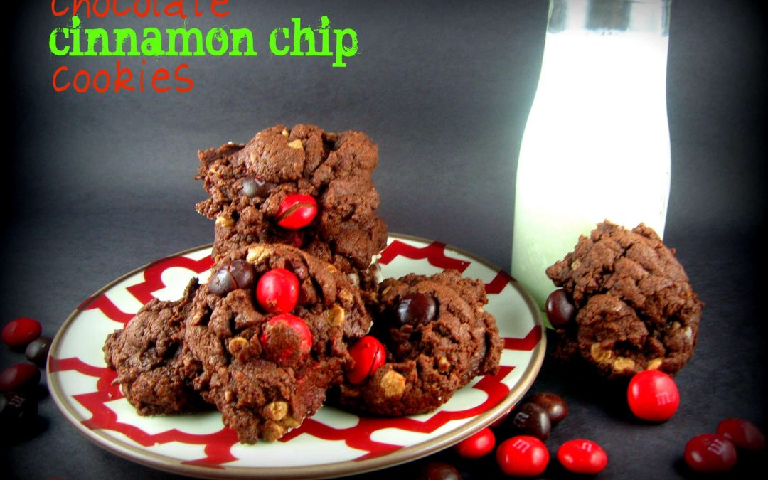 Chocolate Cinnamon Chip Cookies