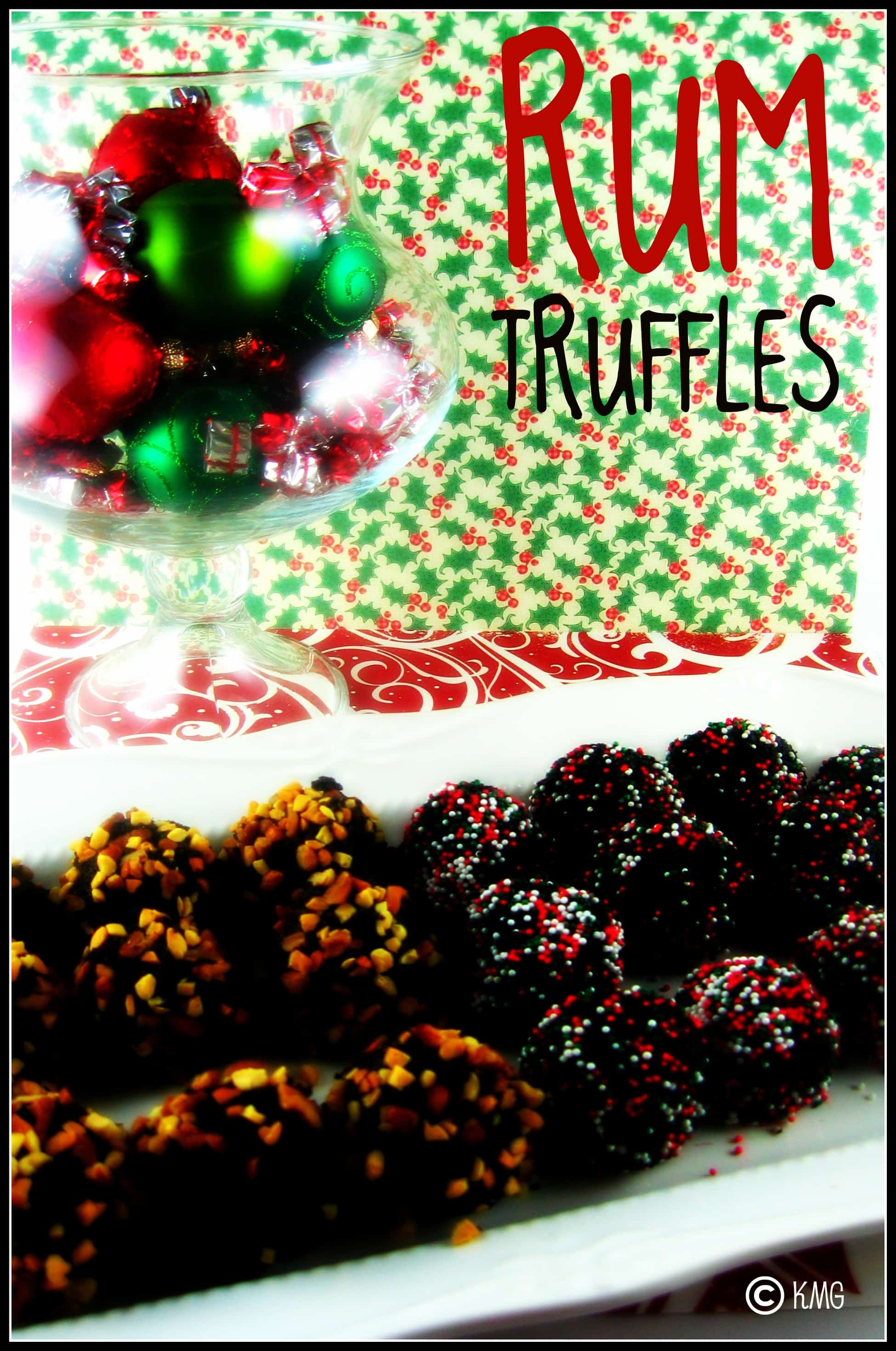 No-Fuss Fudge Rum Truffles