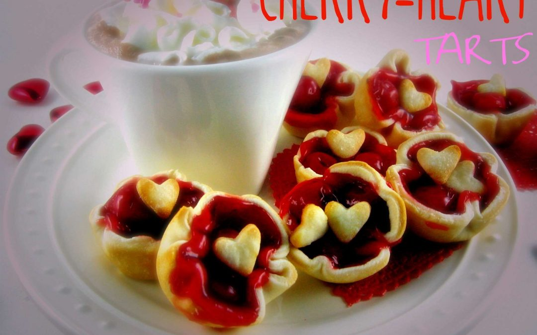 Cherry Heart Tarts – Guest Posting at Diva Entertains