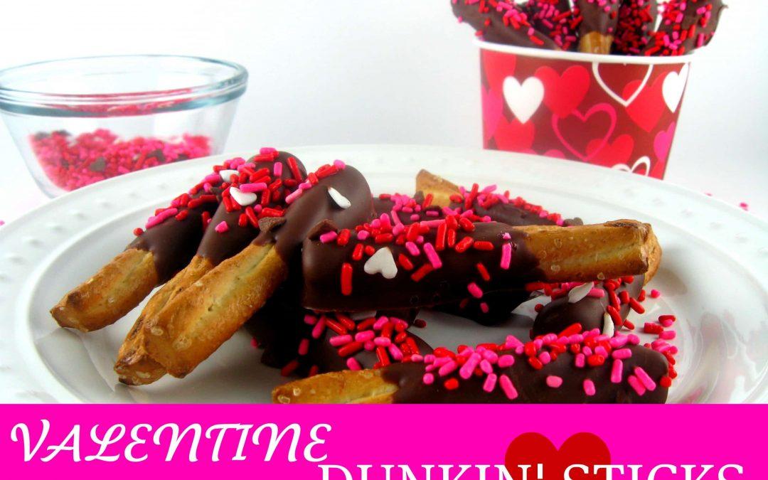 Valentine Dunkin' Sticks