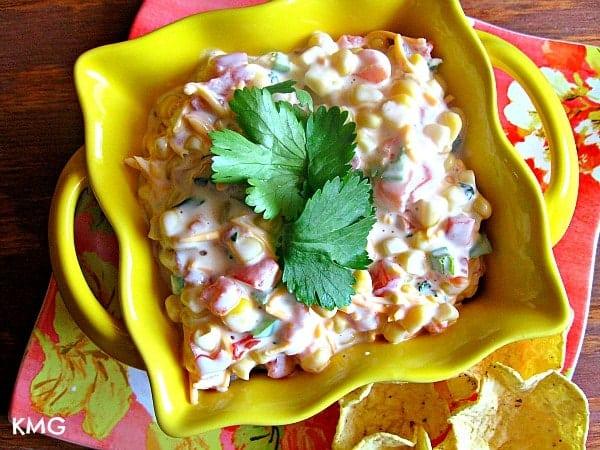 {Cilantro-Lime} Mexi-Corn Dip