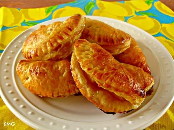 Caramel Pineapple Empanadas