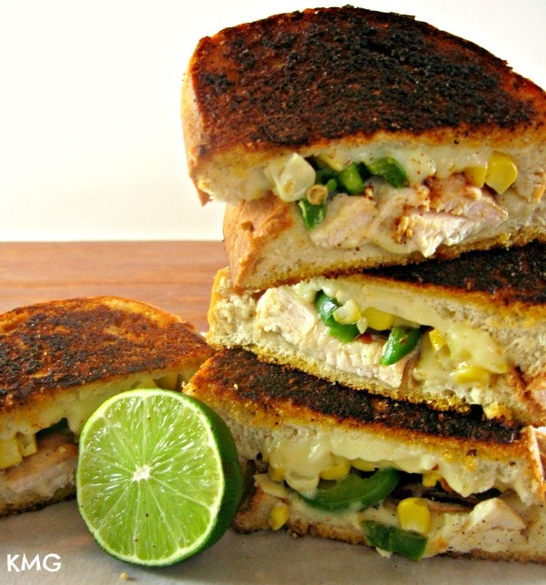 Mexican Grilled Cheese Sandwiches Recipe — Dishmaps