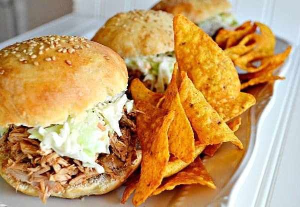 {Easy} Pulled Pork with Even Easier Slaw