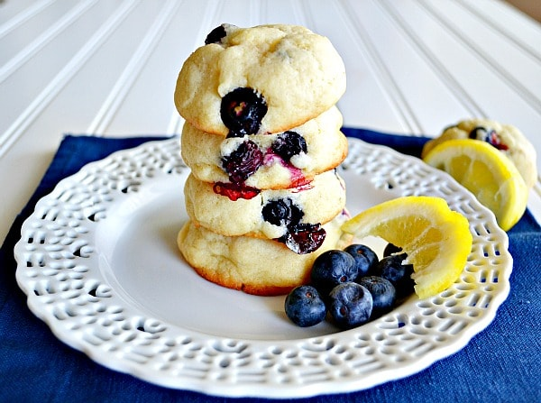 Lemon Blueberry Cookies Recipes — Dishmaps