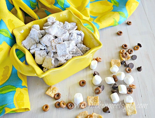 Chocolate Biscoff Puppy Chow