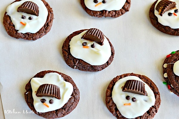 Cookie recipe melted chocolate