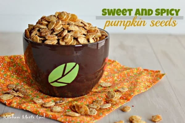 Spiced Pumpkin Seeds and Friday Wrap-Up