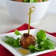 Honey-Chipotle Meatballs
