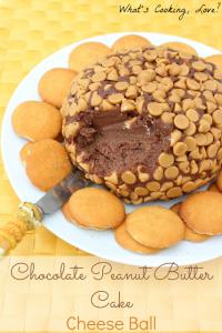 Chocolate Peanut Butter Cake Cheese Ball6
