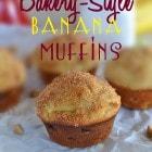 Bakery-Style Banana Muffins