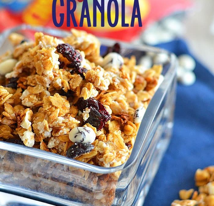 Honey-Vanilla Granola