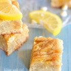 Lemon-Vanilla Dream Bars