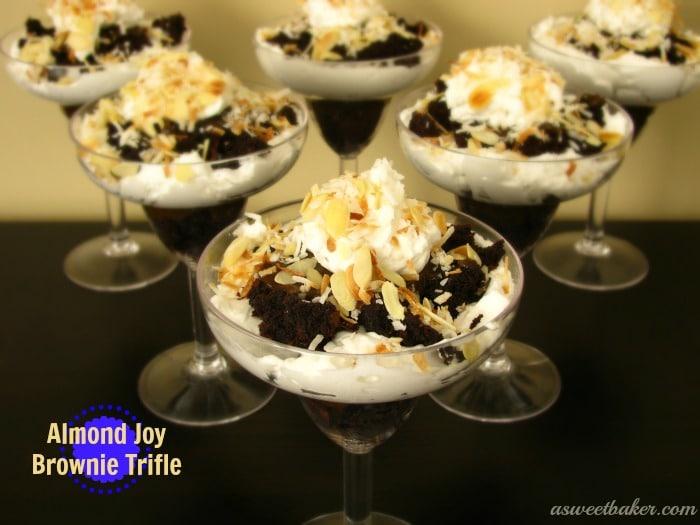 Almond-Joy-Brownie-Trifle