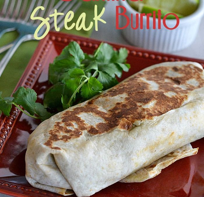 Review: Cantina Steak Burrito