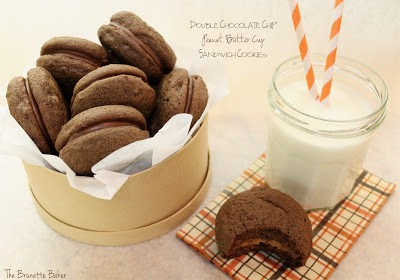 double chocolate chip cookies PB cup