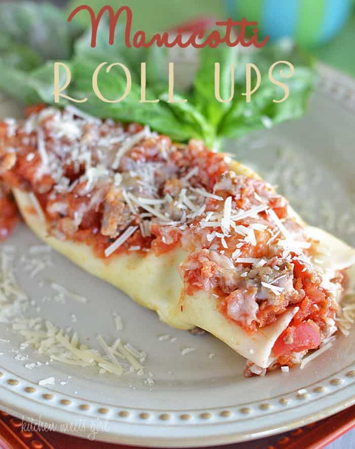The easiest - and best - manicotti you'll ever eat! #recipes #pasta