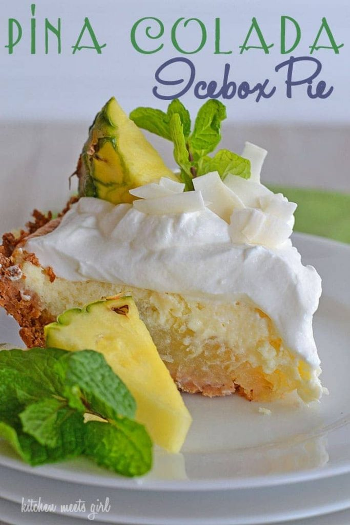 Bring the tastes of the tropics to your kitchen with this Piña Colada Pie - a three-layer pineapple, coconut, and cream pie!
