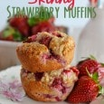 Skinny Strawberry Muffins