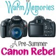 Canon EOS Rebel T3 Giveaway!