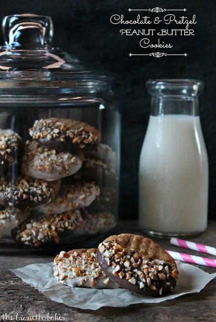Pretzel PB Cookies