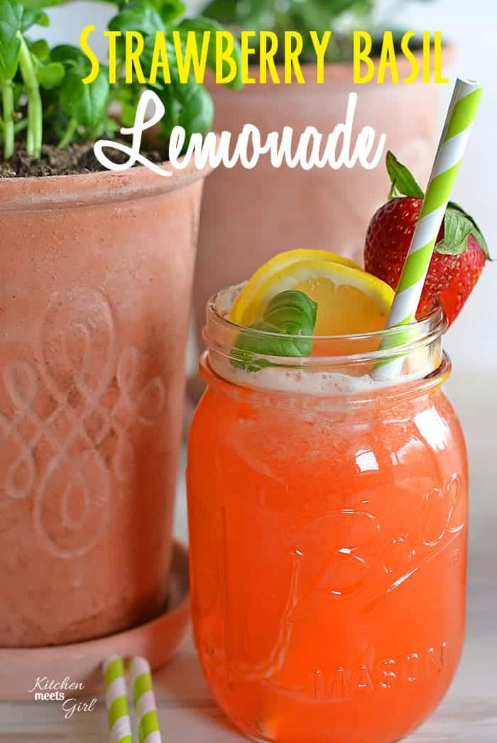... with Home Depot and Strawberry Basil Lemonade | Kitchen Meets Girl
