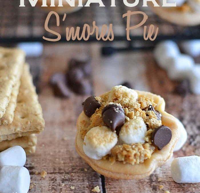 Miniature S'mores Pie