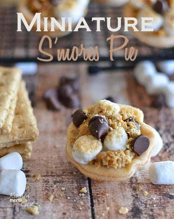 Miniature S'mores Pie
