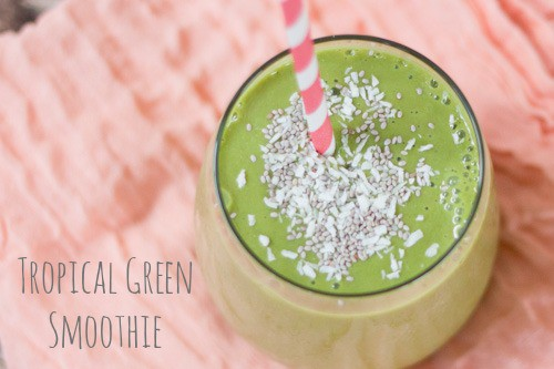Tropical-Green-Smoothie