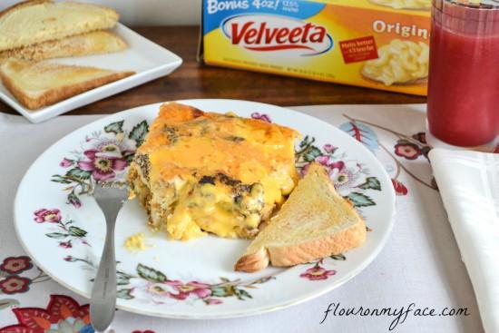 Velveeta-Breakfast-Bake-Casserole-1