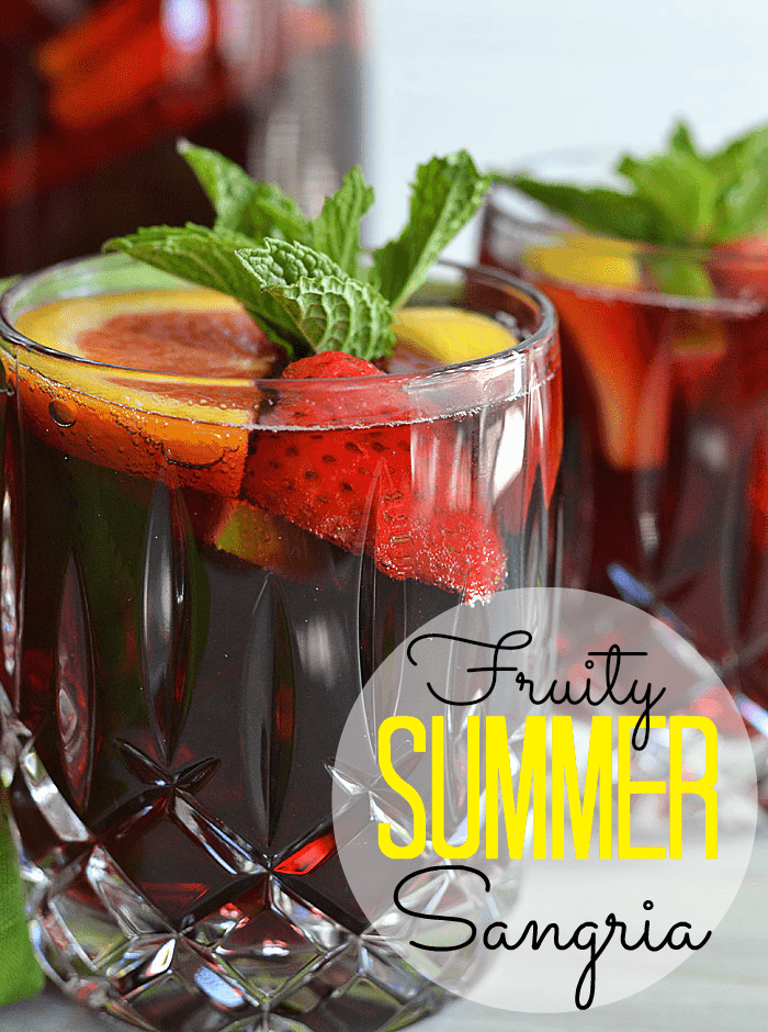 Fruity Summer Sangria