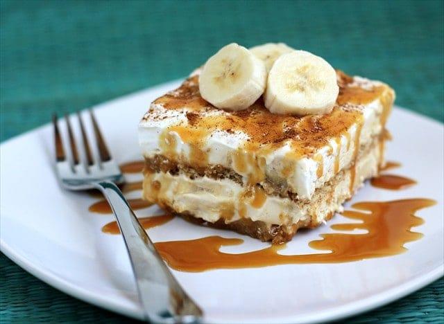banana caramel tiramisu