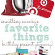 Favorite Things Birthday Present Giveaway!