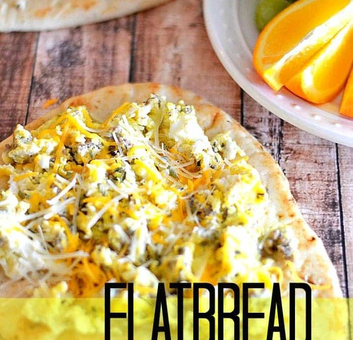 Flatbread Breakfast Pizza