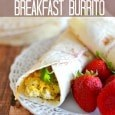 One-Minute Breakfast Burrito