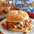 Spicy Buffalo Chicken Sandwiches