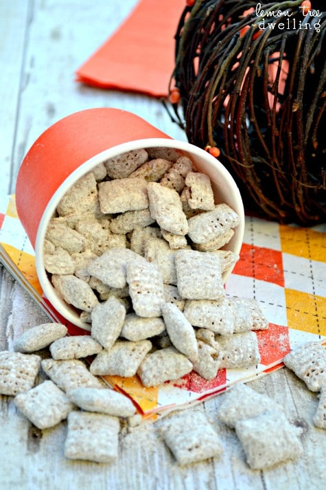 Pumpkin Nutella Muddy Buddies 2b