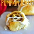 Gooey Apple Pumpkin Rolls
