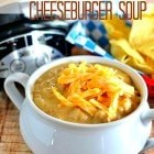 Slow-Cooker Cheeseburger Soup