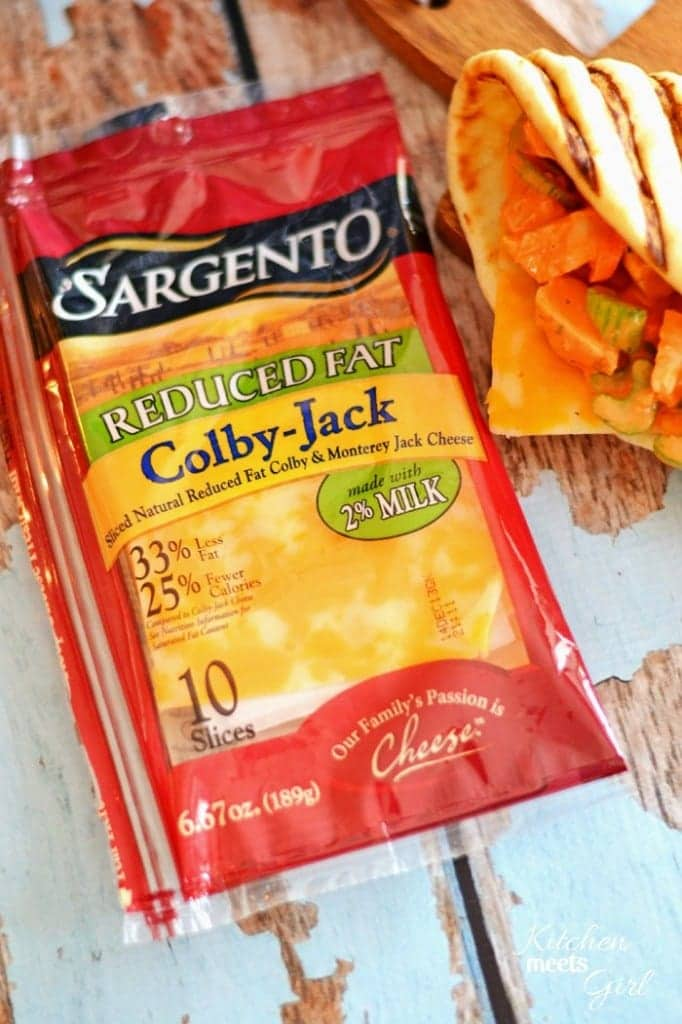 Make lunch time fun again with these {colby} jacked-up chicken salad sandwiches! #SargentoCheese #sandwiches #recipe