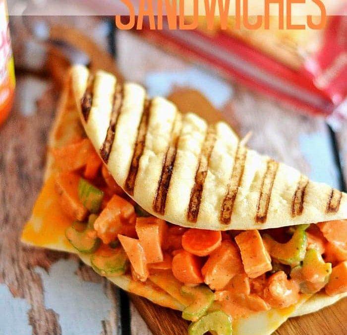 Jacked-Up Chicken Salad Sandwiches