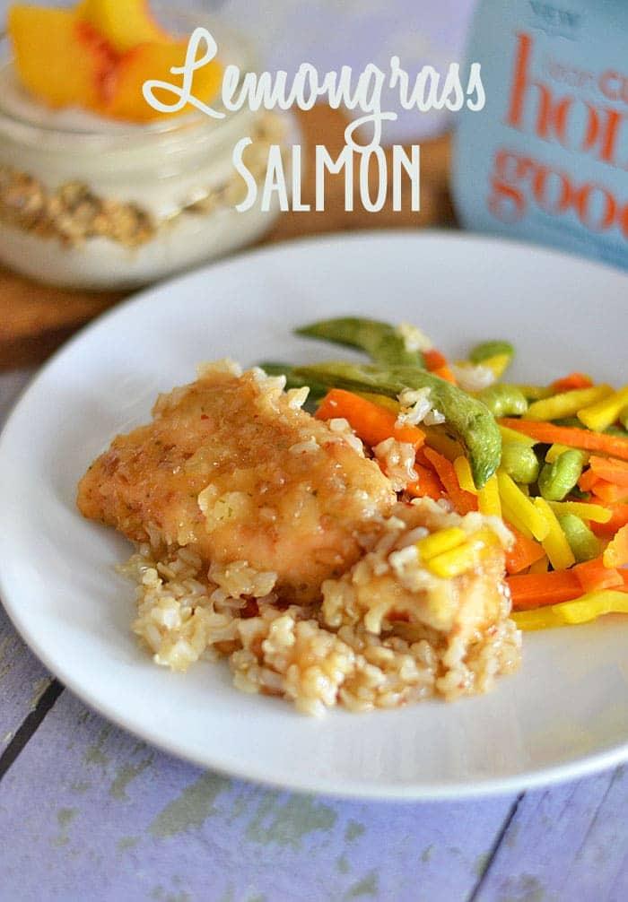 Lemongrass-Salmon