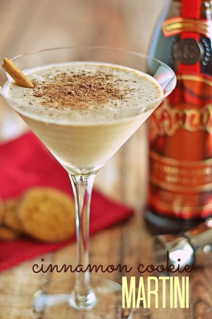Cinnamon Cookie Martini