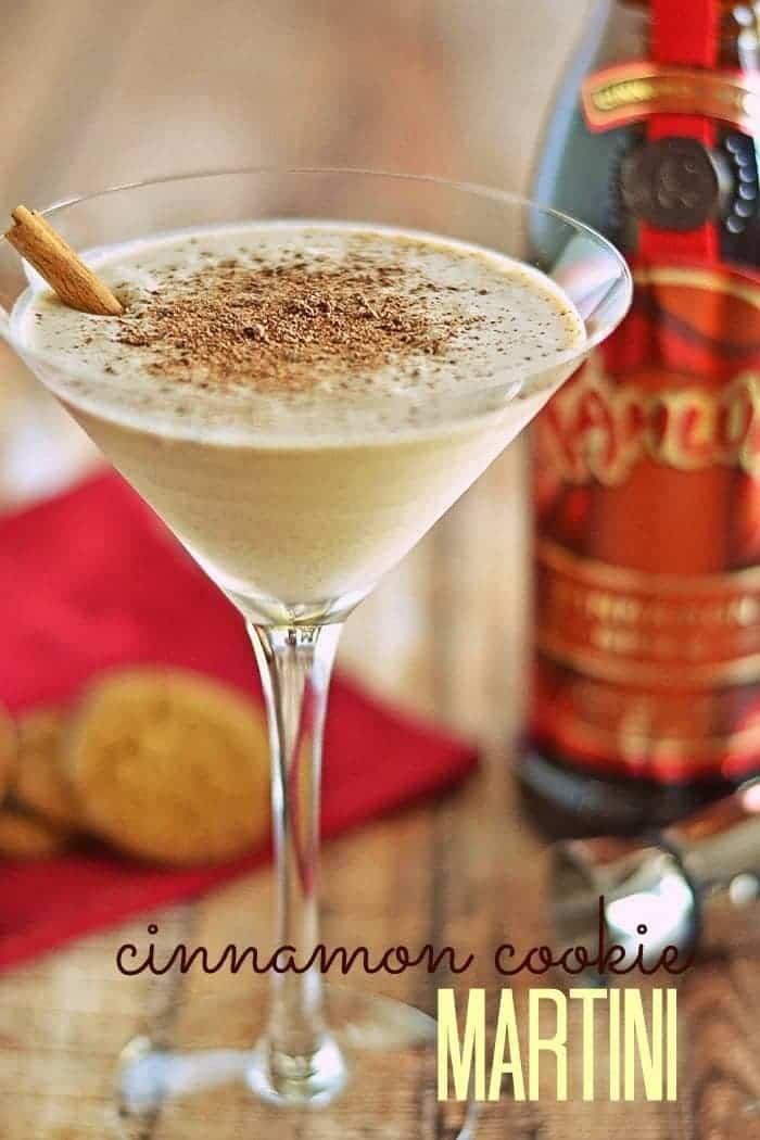 Cinnamon Cookie Martini