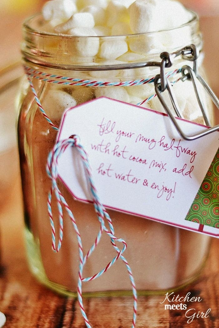 Homemade Hot Cocoa And Kahlua For Christmas Gifts Recipe ...